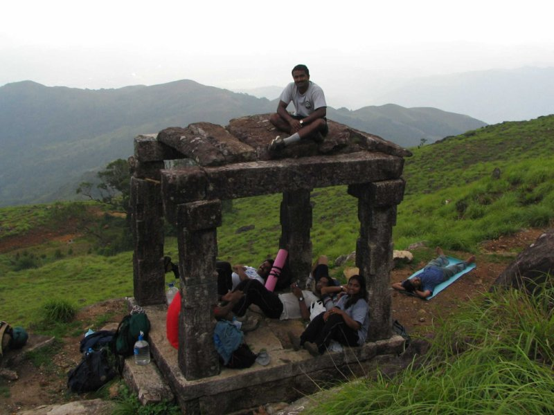 Sandeep 39;s World gt;gt; Kumaraparvatha Trek