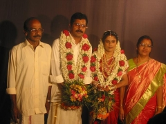 With Amma and Achan