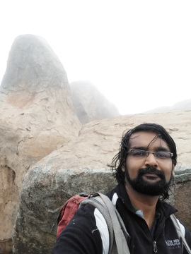 Selfie near Antharagange peak