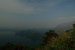 Aliyar dam from Loam's View Point