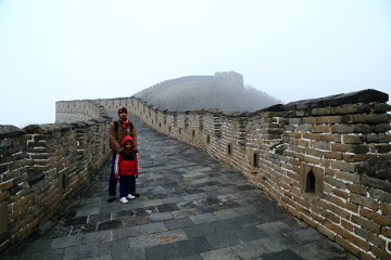 Preethu @ Badaling Great Wall