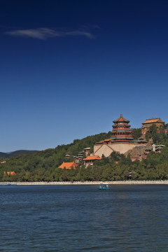 Kunming Lake and the Tower of Buddhist Incense