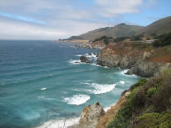 Pacific coast along CA-1