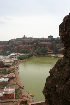 From Badami Caves