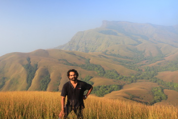 sandeep and Kudremukh from Hiremaleguppi