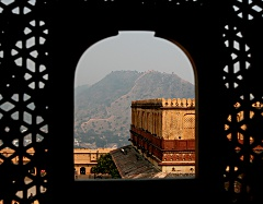 Jaigarh fort from Amber palace
