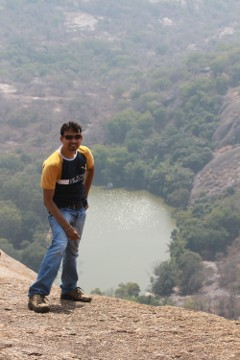 Sudeepto and the lake