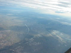 Munich from the flight