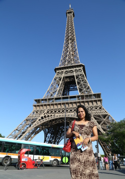 Preetha @ Eiffel Tower, Paris