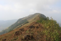 Pythalmala ridge from the east