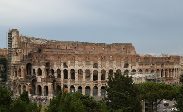 Colosseum from Capitoline hill, Rome