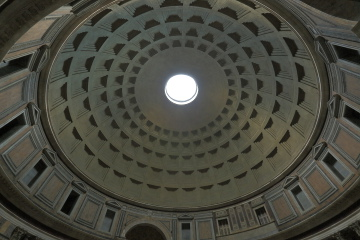 Oculus at the Pantheon, Rome