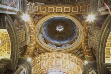 Dome at St Peters Basilica, Vatican