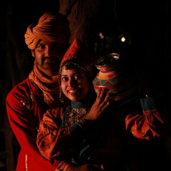 Rajasthani couple!