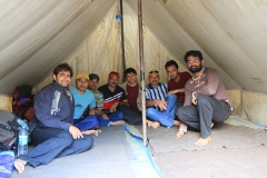 Our tent at Babeli base camp