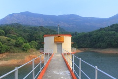 Siruvani water intake tower and Elival Mala ranges