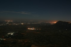 Nightview of the Valley