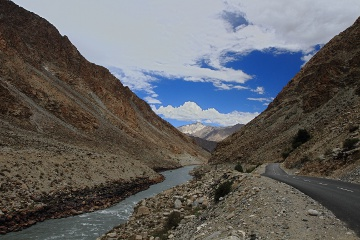 Shingo river near Kargil