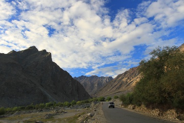 way to Zanskar @ Sankoo