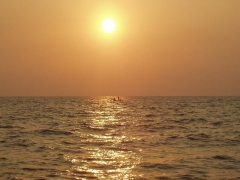 Sunset @ Shanghumugham