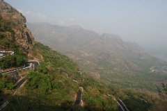 Winding road to Valparai