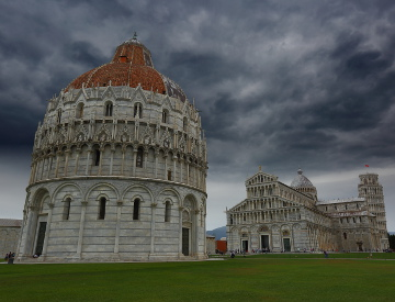 Baptistery, Church and the Leaning Tower, Pisa