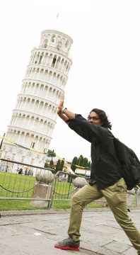 Pushing the Leaning Tower of Pisa