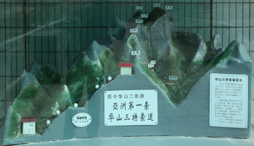 Model of Hua Shan