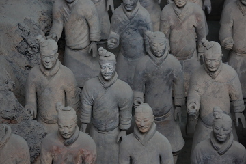 Terracotta Warriors in Pit 1